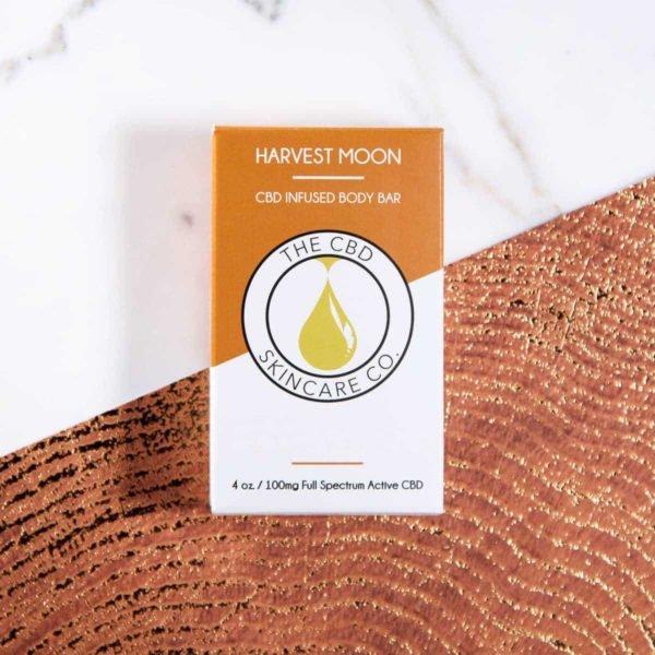 cbd skin care products harvest moon body bar