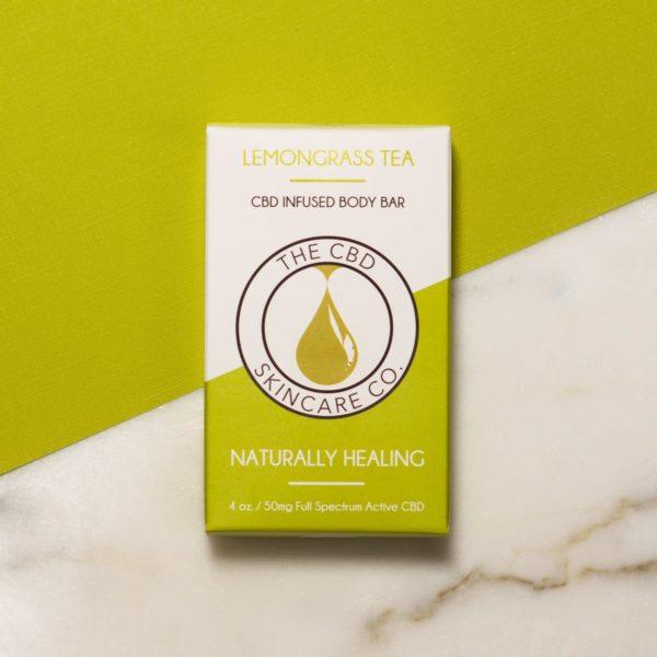 lemongrass tea body bar