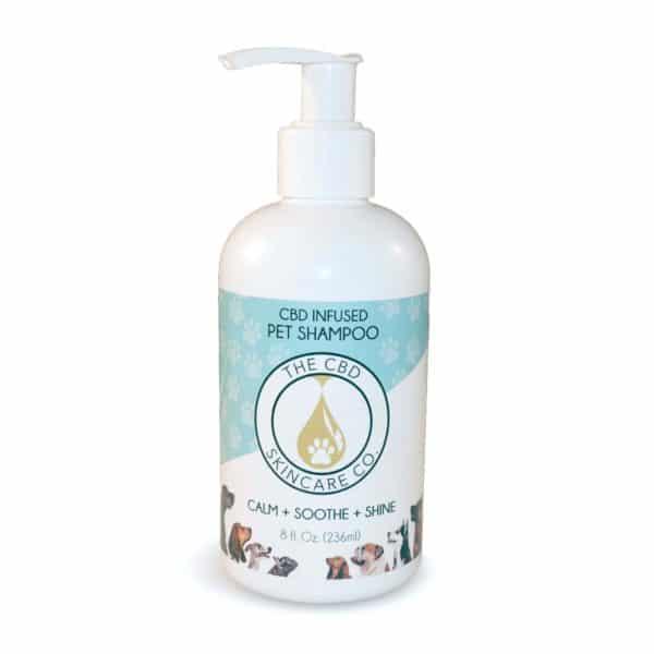 organic cbd pet shampoo